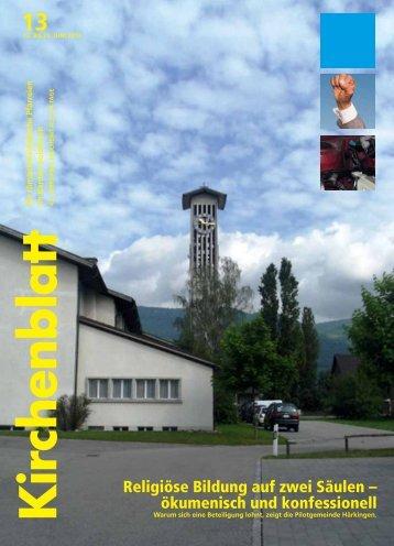 Religiöse Bildung auf zwei Säulen – ökumenisch und ... - Kirchenblatt