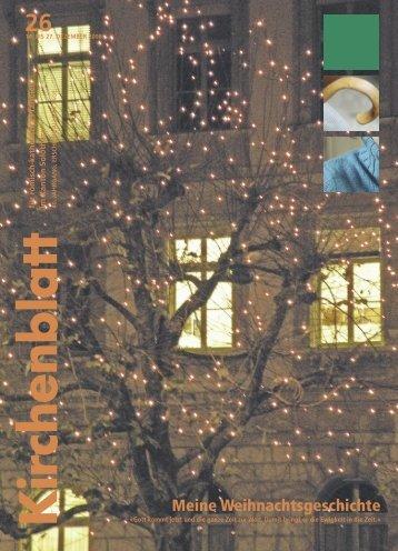 Meine Weihnachtsgeschichte - Kirchenblatt