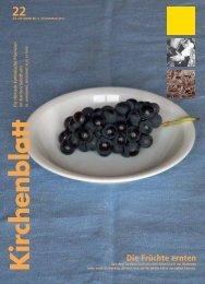 Die Früchte ernten - Kirchenblatt