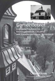 Februar bis Mai 2010 - Kirchengemeinde Clausthal