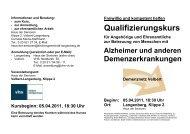 Qualifizierungskurs - Evangelische Kirchengemeinde Langenberg