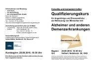Informationen und Beratung: - Evangelische Kirchengemeinde ...