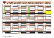 Jahreskalender 2010 (NRW) - Kirchengemeinde Sechshelden