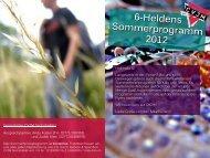 Hier ist der Flyer zum SoPro 2012 - Kirchengemeinde Sechshelden