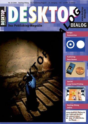 DESKTOP DIALOG Nr. 10-2006