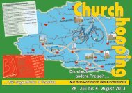 1. Churchhopping - Kirchengemeinde Westercelle
