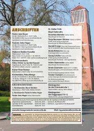 Ausgabe 2013 - Kirchengemeinde Westercelle