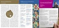 Gemeindebrief Walddorf Advent - Evangelische Kirchengemeinde ...