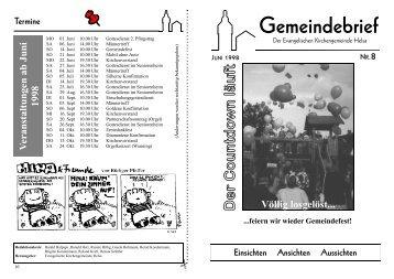 Gemeindebrief Nr8.PUB - Die Kirchengemeinden in HELSA