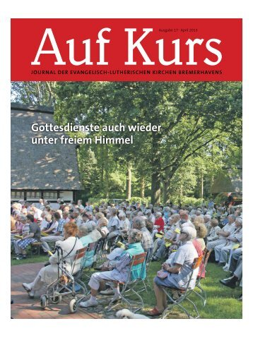Gottesdienste auch wieder unter freiem Himmel - kirchenjournal.de