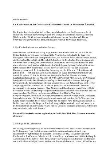 Evangelischer Kirchenkreis Aachen