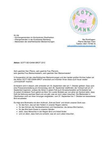 Gott-sei-Dank-Brot_Anschreiben 2012.pdf - Kirchenkreis Bayreuth