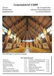 3/2009 - Kirchenkreis Leverkusen