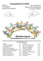 2/2010 - Kirchenkreis Leverkusen