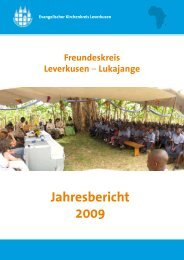 Jahresbericht 2009 - Kirchenkreis Leverkusen