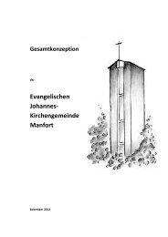 Gemeindekonzeption Manfort 2012 10 05 - Kirchenkreis Leverkusen