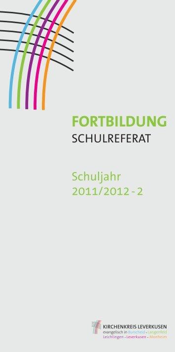 Fortbildung - Kirchenkreis Leverkusen