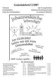 Gemeindebrief 2/2007 - Kirchenkreis Leverkusen