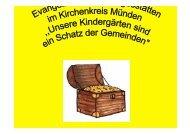 Schatz der Gemeinden - Ev.-luth. Kirchenkreis Münden