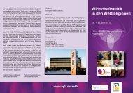 Das Faltblatt zur Tagung zum Herunterladen - Evangelischer ...