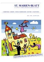 St.Marienblatt Juni - Kirchenkreis Winsen