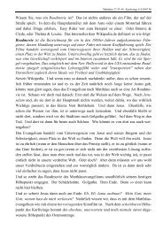 Predigt über Matthäus 27,33-54 - Kirchenkreis Winsen
