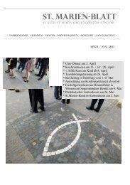 St.Marienblatt 13.04-05 web - Kirchenkreis Winsen