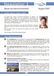 Newsletter KK Winsen.cdr - Kirchenkreis Winsen