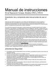 Manual de instrucciones - CompaC