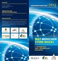 WAS MENSCHEN STARK MACHT. - Systemisches Institut Karlsruhe