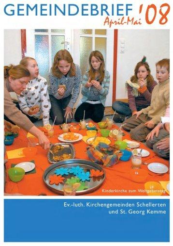 Mai 2008 - Kirchenregion Schellerten