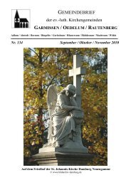 Gemeindebrief September-November 2010 - Kirchenregion ...