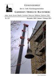 Gemeindebrief Dezember 2010-Februar 2011 - Kirchenregion ...