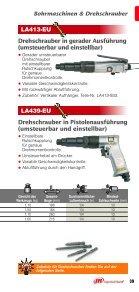 Bohrmaschinen & Drehschrauber - Ingersoll Rand - Seite 6