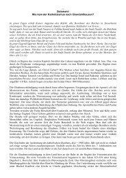 Zeitstrahl: Wie kam der Katholizismus nach Oberdahlhausen? In ...