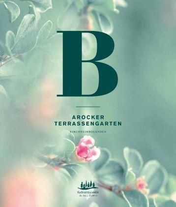 Terrassengarten - Verbandsgemeinde Kirchheimbolanden