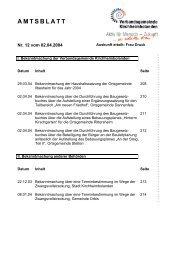 AMTSBLATT - Verbandsgemeinde Kirchheimbolanden