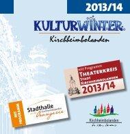 Kulturwinter - Verbandsgemeinde Kirchheimbolanden