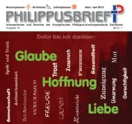 PDF 9 MB - Evangelische Philippus-Kirchengemeinde Dortmund