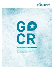 Studie Good Company Ranking 2013 - Kirchhoff Consult AG
