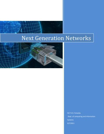 Next Generation Networks - Christiealwis.com