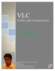(Visible Light Communication) - Christiealwis.com