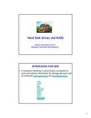 Hard Disk Drives and RAID - Christiealwis.com