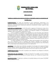 Temporada 2010/2011 CIRCULAR Nº 26 NORMAS CAMPEONATO ...