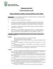 Temporada 2012/2013 CIRCULAR nº 10 NORMAS CAMPEONATO ...