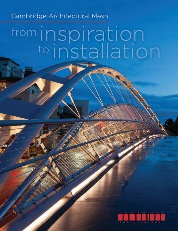 from inspiration to installation