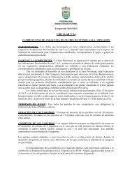 Temporada 2011/2012 CIRCULAR Nº 24 CAMPEONATOS DE ...