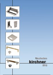 Neuheiten 2012 - G. Kirchner