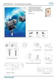 Katalogseite Hercule 200 - G. Kirchner GmbH & Co. KG
