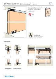 Porta 60-100 HM - G. Kirchner